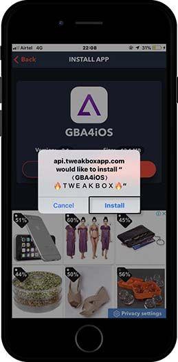 how to use gba4ios